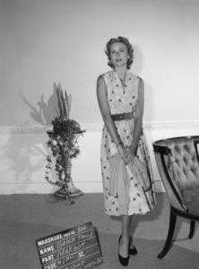 "Grace Kelly wardrobe test for ""Dial M for Murder""1954** I.V. - Image 24322_0079"