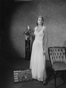 "Grace Kelly wardrobe test for ""Dial M for Murder""1954** I.V. - Image 24322_0080"