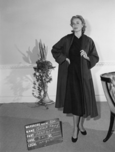 "Grace Kelly wardrobe test for ""Dial M for Murder""1954** I.V. - Image 24322_0081"