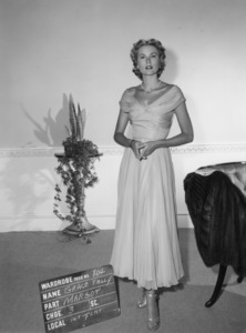 "Grace Kelly wardrobe test for ""Dial M for Murder""1954** I.V. - Image 24322_0082"