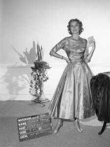 "Grace Kelly wardrobe test for ""Dial M for Murder""1954** I.V. - Image 24322_0084"