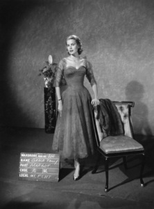 "Grace Kelly wardrobe test for ""Dial M for Murder""1954** I.V. - Image 24322_0085"