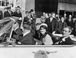 John F. Kennedy, Jacqueline Kennedy and Governor John Connally in Texas1963** I.V. - Image 24322_0132