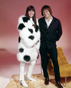 """Cher and Sonny Bono in """"Good Times""""1967** I.V. - Image 24322_0146"""