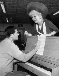 """Hello, Dolly!"" (stage version)Jerry Herman, Carol Channing1964** I.V. - Image 24322_0226"