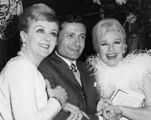Angela Lansbury, Jerry Herman and Ginger Rogers at the Tony Awards1966** I.V. - Image 24322_0228