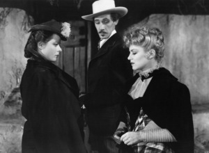 "Louise Platt, John Carradine and Claire Trevor in ""Stagecoach""1939 UA© 1978 Ned Scott Archive - Image 24327_0046"