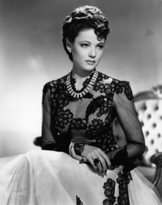 """Gene Tierney in """"The Shanghai Gesture""""1941 UA© 1978 Ned Scott Archive - Image 24327_0083"""