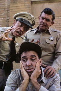"""""""The Andy Griffith Show""""Don Knotts, Jim Nabors, Andy Griffith1964© 1978 Richard R. Hewett - Image 24328_0004"""