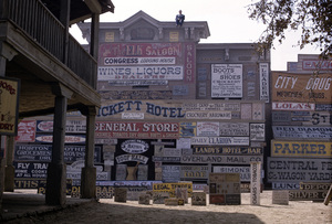 """Rawhide"" (signs used in episodes) 1964 © 1978 Richard R. Hewett"