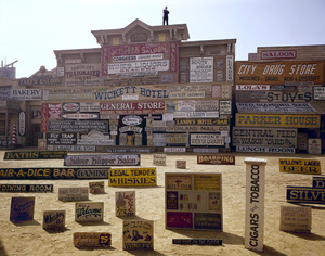 """""""Rawhide"""" (signs used in episodes)1964© 1978 Richard R. Hewett - Image 24328_0012"""