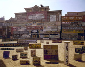 """""""Rawhide"""" (signs used in episodes)1964© 1978 Richard R. Hewett - Image 24328_0013"""