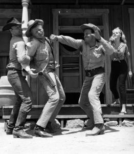 """The Westerner"" Brian Keith circa 1960 © 1978 Richard R. Hewett"