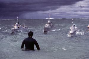 """The Winds of War""Paramount Studios back lot1981© 1981 Richard R. Hewett - Image 24328_0031"