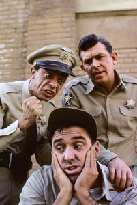 """""""The Andy Griffith Show"""" Don Knotts, Jim Nabors, Andy Griffith 1964 © 1978 Richard R. Hewett"""