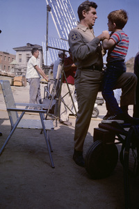 """""""The Andy Griffith Show""""Andy Griffith, Ron Howard1962© 1978 Richard R. Hewett - Image 24328_0070"""