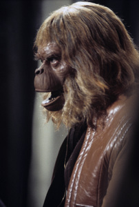 """""""Beneath the Planet of the Apes"""" Maurice Evans 1969 © 1978 Richard R. Hewett"""