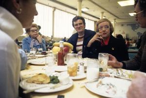 """Hello Mother, Goodbye!""Kenneth Mars, Bette Davis1973© 1978 Richard R. Hewett - Image 24328_0095"