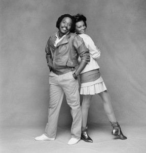 Yarbrough and Peoples (Cavin Yarbrough and Alisa Peoples) 1982© 1982 Bobby Holland - Image 24331_0012