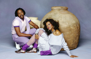 Yarbrough and Peoples (Cavin Yarbrough and Alisa Peoples) 1982© 1982 Bobby Holland - Image 24331_0020