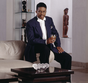 Herbie Hancock during a photo session for Chivas Regalcirca mid 1990s© 1995 Bobby Holland - Image 24331_0046