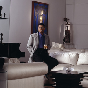 Herbie Hancock during a photo session for Chivas Regalcirca mid 1990s© 1995 Bobby Holland - Image 24331_0047