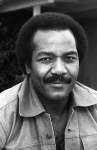 Jim Brown at his Hollywood Hills Home  1976© 1978 Bobby Holland - Image 24331_0074