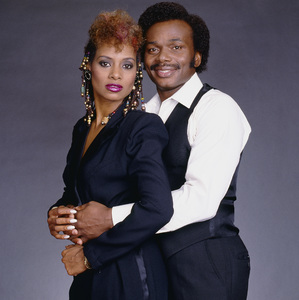Linda Greene and Herb Fame of Peaches & Herb 1980© 1980 Bobby Holland - Image 24331_0076
