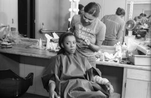 Patrice Rushen and her make-up artist, Tara Posycirca 1980s© 1980 Bobby Holland - Image 24331_0098