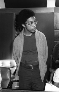Charles Mims Jr. (Co-Producer) at Conway Recording Studios in Los Angelescirca 1980s© 1980 Bobby Holland - Image 24331_0108