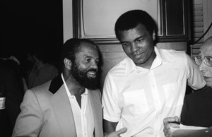 Berry Gordy Jr.,  Muhammad Ali and Sammy Cahn at a Motown Records event in Hollywood, CAcirca 1975© 1978 Bobby Holland - Image 24331_0119