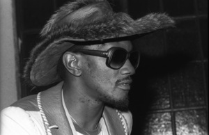 Bernie Worrell backstage at The Philadelphia Spectrum during the Parliament-Funkadelic Earth Tour 1978© 1978 Bobby Holland - Image 24331_0120