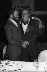 Berry Gordy and Alex Haley at the National Urban League Tribute Awards in Los Angeles, CA1980© 1980 Bobby Holland - Image 24331_0127