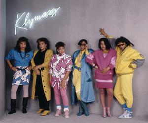 Klymaxx (Bernadette Cooper, Lorena Shelby, Cheryl Cooley, Lynn Malsby, Robbin Grider) 1986© 1986 Bobby Holland - Image 24331_0131