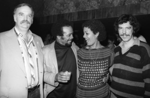 Bruce Swedien, Quincy Jones, Laura Palmer and Rod Tempertoncirca 1980s© 1980 Bobby Holland - Image 24331_0146