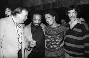 Bruce Swedien, Quincy Jones, Laura Palmer and Rod Tempertoncirca 1980s© 1980 Bobby Holland - Image 24331_0147