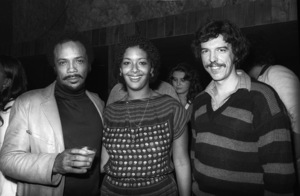 Quincy Jones, Laura Palmer and Rod Tempertoncirca 1980s© 1980 Bobby Holland - Image 24331_0148