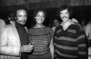 Quincy Jones, Laura Palmer and Rod Tempertoncirca 1980s© 1980 Bobby Holland - Image 24331_0149