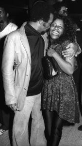 Quincy Jones and Chaka Khan at a listening partycirca 1980s© 1980 Bobby Holland - Image 24331_0151