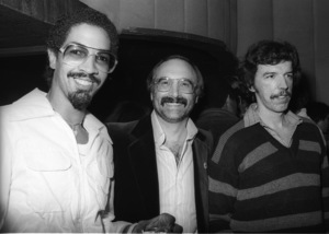 George Johnson, Rod Temperton and Larry Fitzgeraldcirca 1980s© 1980 Bobby Holland - Image 24331_0167
