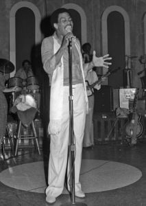 Cuba Gooding Sr. performing live at the Total Expericence Nightclubcirca 1970s© 1978 Bobby Holland - Image 24331_0192
