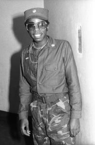 "Walter ""Junie"" Morrison backstage at The Spectrum in Philadelphiacirca 1970s© 1978 Bobby Holland - Image 24331_0193"