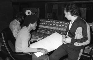 Jermaine Jackson at Motown Recording Studios in Los Angeles, CAcirca 1980s© 1980 Bobby Holland - Image 24331_0204