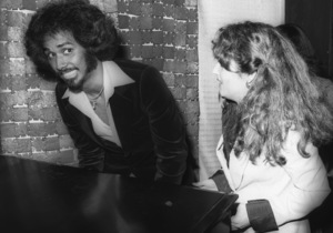 Phillip Ingram and Teena Marie at a Motown Records Party in Hollywood, CAcirca 1970s© 1978 Bobby Holland - Image 24331_0207