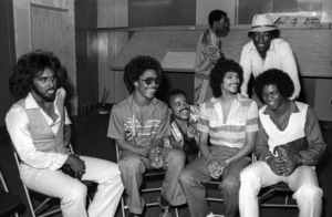 """Switch"" at Freeway Records in Los Angeles, CA(Tommy DeBarge, Eddie Fluellen, Bobby DeBarge, Jody Sims, Phillip Ingram, Gregory Williams)circa 1979© 1979 Bobby Holland - Image 24331_0223"