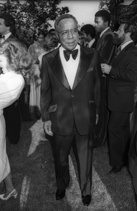 Alex Haley at the wedding of Terry Gordy held at the estate of Berry Gordy Jr, in Bel Air, California1978© 1978 Bobby Holland - Image 24331_0243