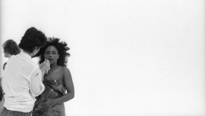 """Rufus and Chaka Khan during the making of two music videos for the album """"Masterjam"""" 1979 © 1979 Bobby Holland - Image 24331_0246"""
