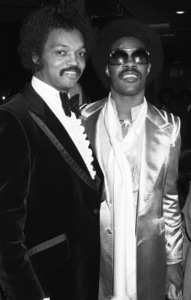 Jessie Jackson and Stevie Wonder circa 1970s© 1978 Bobby Holland - Image 24331_0268
