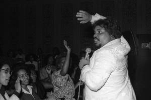 D.J. Rogers performing live in Los Angelescirca mid 1980s© 1985 Bobby Holland - Image 24331_0309