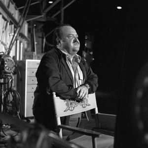 """William Conrad on set of """"Cannon""""1974 © 1978 Wynn Hammer - Image 24344_0003"""